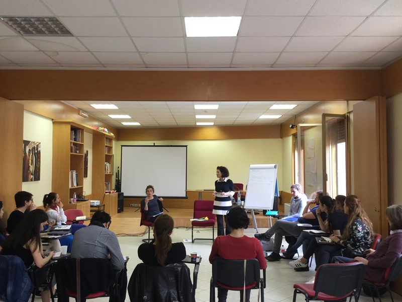 LL2II Staff Training in Rome